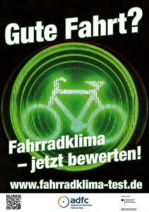 Fahrradklimatest - Mitmachen!