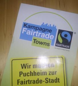 Puchheim ist Fairtrade-Stadt