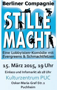 Stille Macht - Gastspiel der Berliner Compagnie