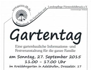 Gartentag Adelshofen 2015